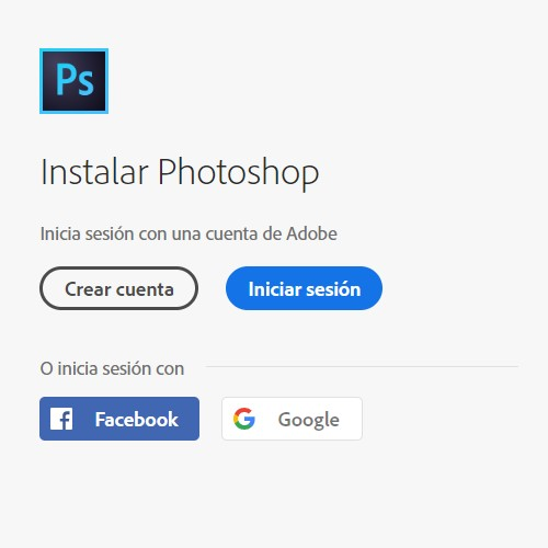 Descargar Photoshop
