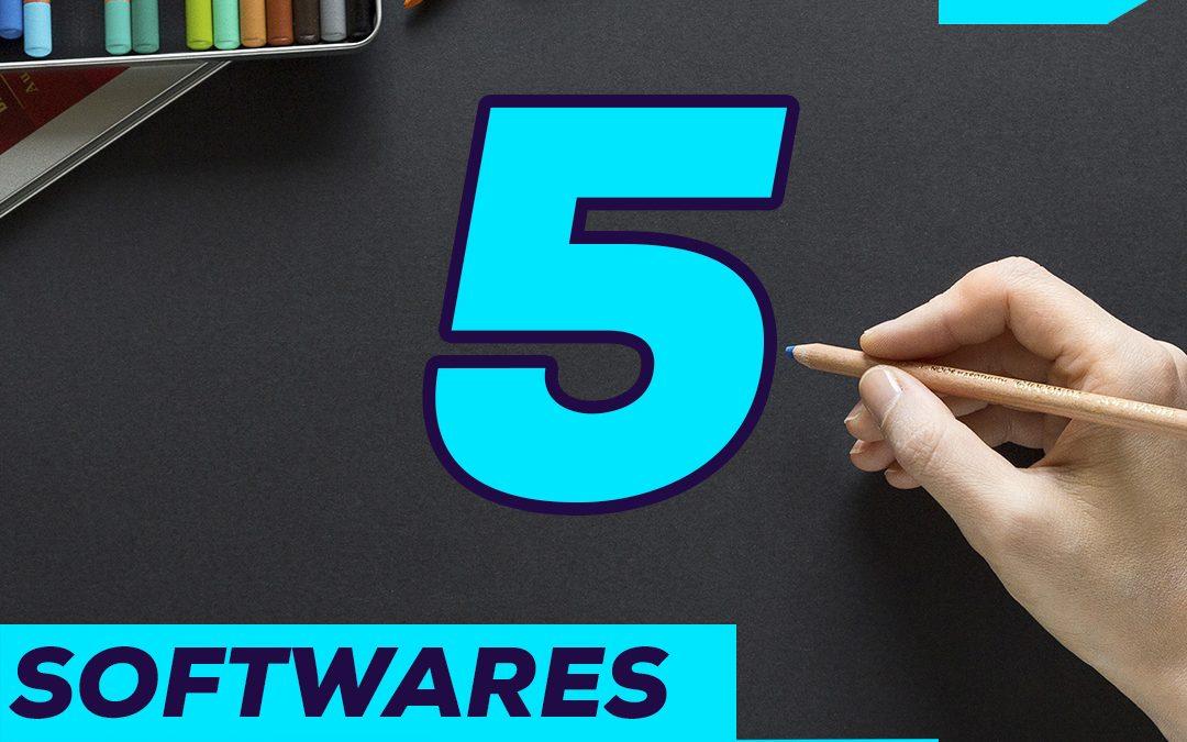TOP 5 PROGRAMAS DE DISEÑO 🏆
